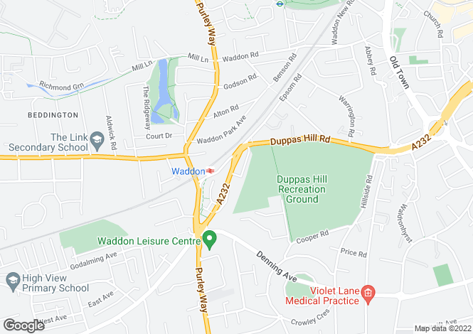Map for Stafford Road,