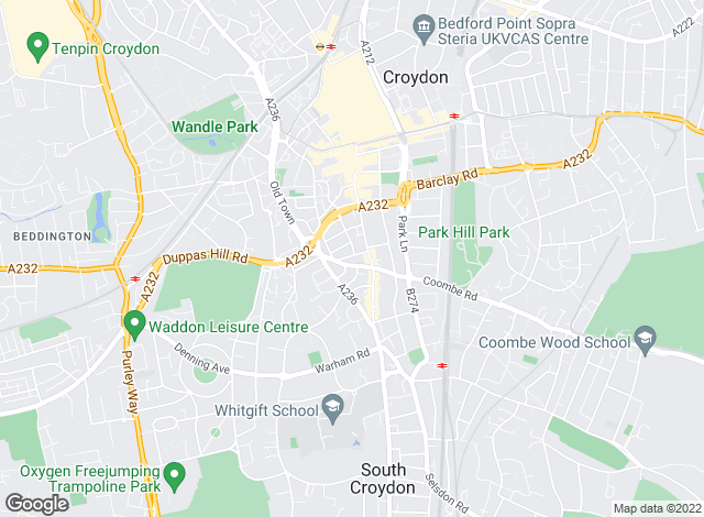 Map for Flexistay Ltd, Croydon