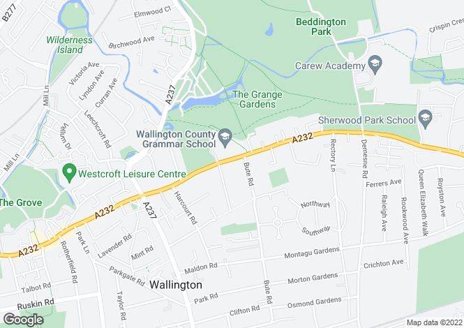 Map for Croydon Road, SM6 7LB