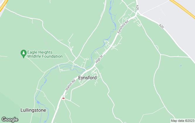 Map for Ward & Partners, Eynsford