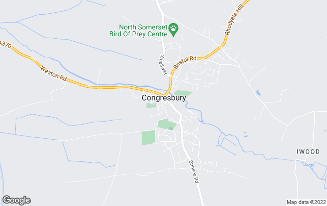 Map for Robin King Estate Agents, Congresbury