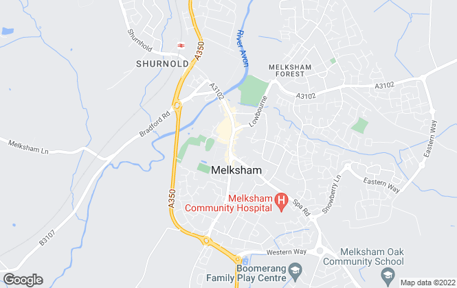 Map for Kingstons, Melksham