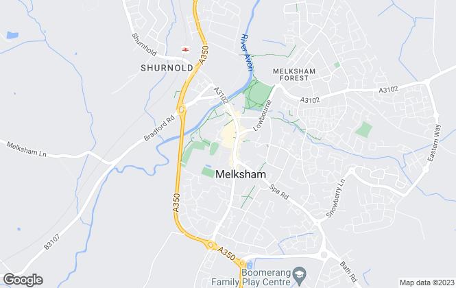 Map for Lock & Key Independent Estate Agents, Melksham