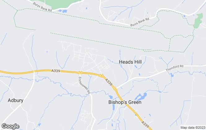 Map for Greenham Business Park Ltd, Newbury
