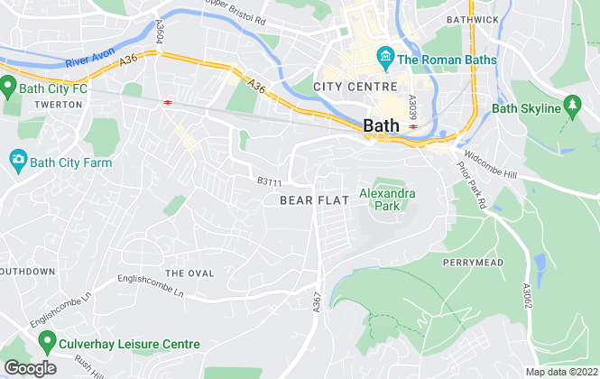 Map for Fidelis Estate Agents, Bath