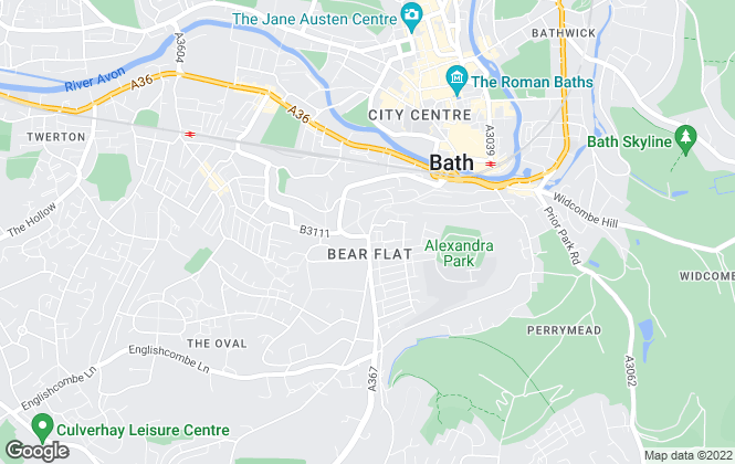 Map for Mark Naylor Estate Agents Ltd, Bath