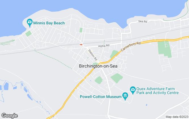 Map for Glenn & Co, Birchington