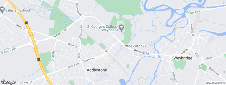 Map for Redrow Homes (Southern Counties)