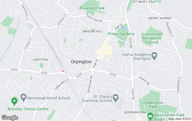 Map for YOUR MOVE - O'Neil, Orpington