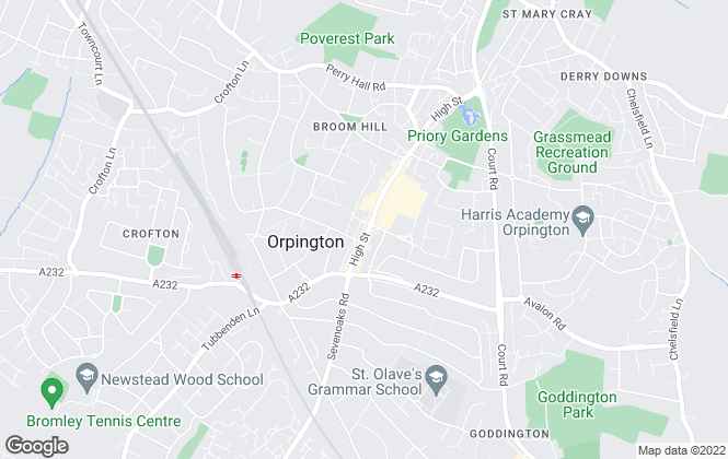 Map for Bishop Estate Agents , Orpington