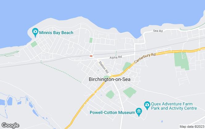 Map for YOUR MOVE Sales - Charterhouse, Birchington