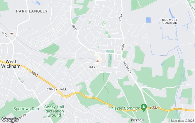 Map for Kinleigh Folkard & Hayward - Sales, Hayes