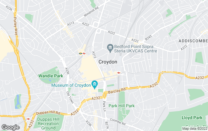 Map for My Sharers Limited, Croydon