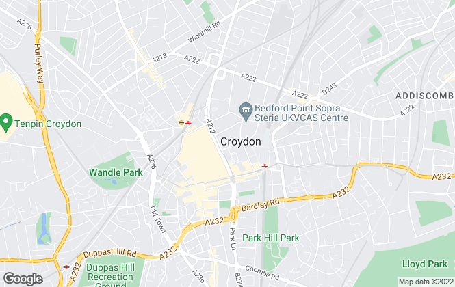 Map for Appleton Estates, Croydon