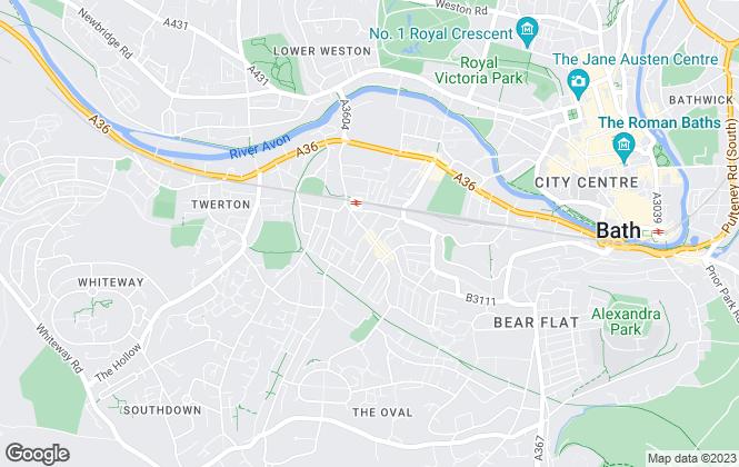 Map for Liane Hanks Residential, Bath