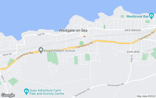 Map for Synergy Property Associates, Westgate-On-Sea