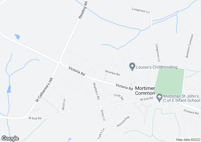 Map for Groves Lea, Mortimer, RG7