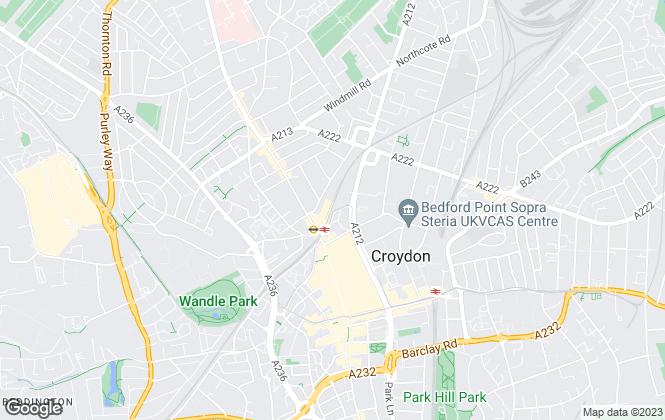 Map for RPM (Rioten Property Management Ltd), Croydon