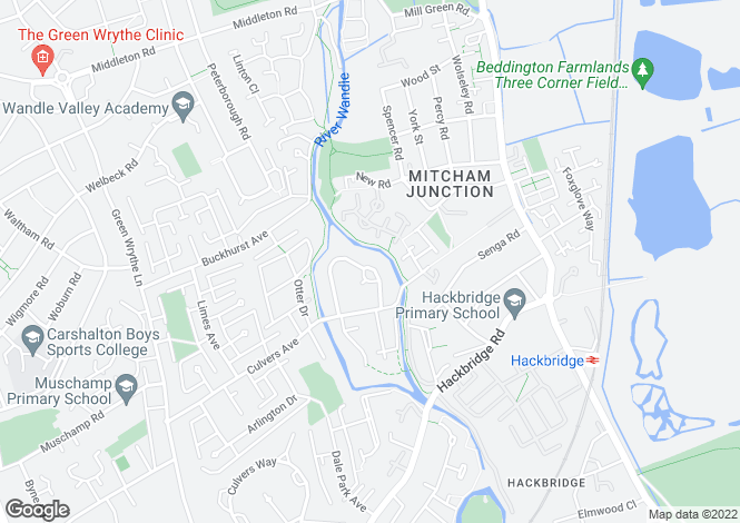 Map for Reynolds Close,