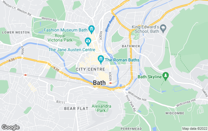 Map for Crisp Cowley (Bath) Ltd, Bath