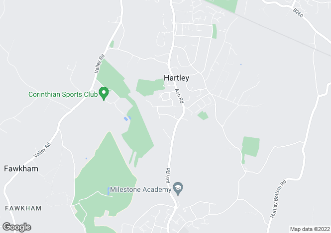 Map for Chantry Avenue, Hartley