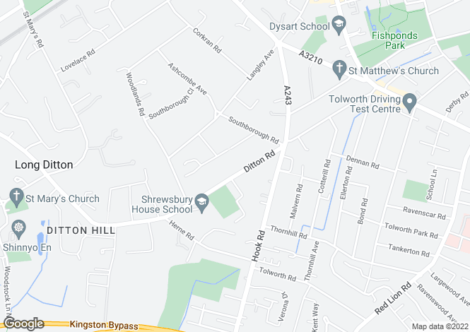 Map for Ditton Road,