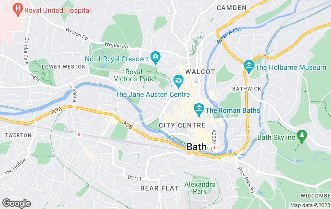 Map for PropertyLink Estates, Bath