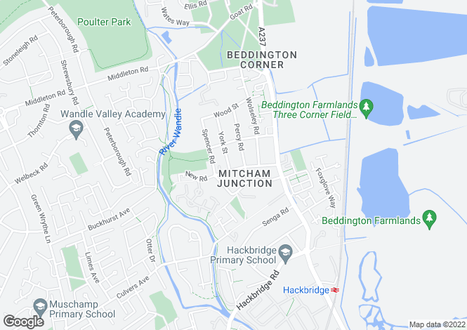 Map for New Road,