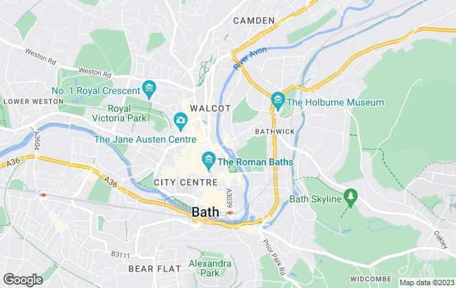 Map for Winkworth, Bath