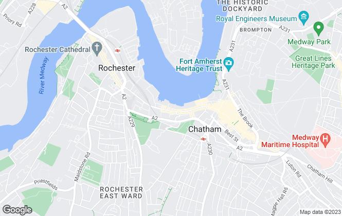 Map for Evolution Estates Ltd, Medway