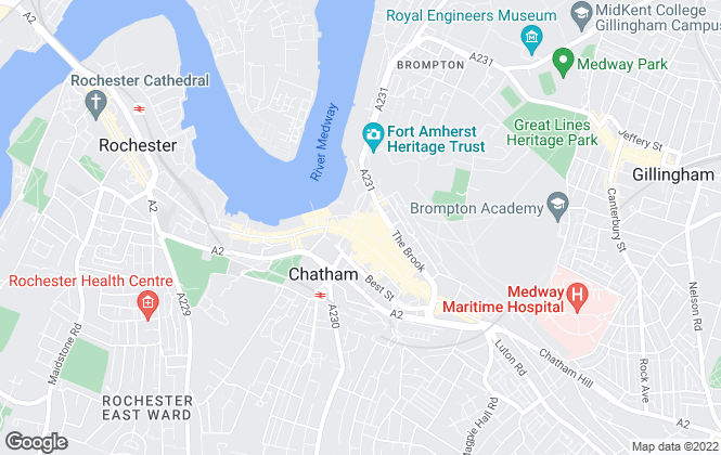 Map for Your Move , Chatham