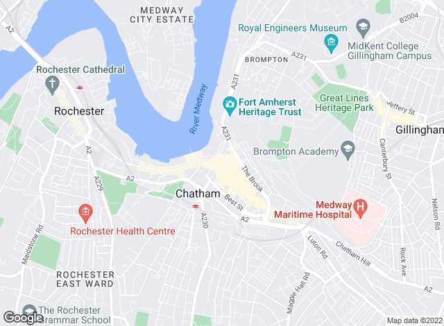 Map for YOUR MOVE, Chatham