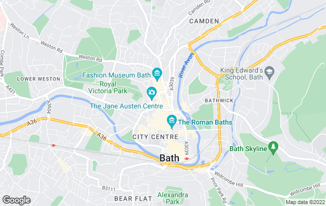 Map for Swallows Property Letting Agency, Bath