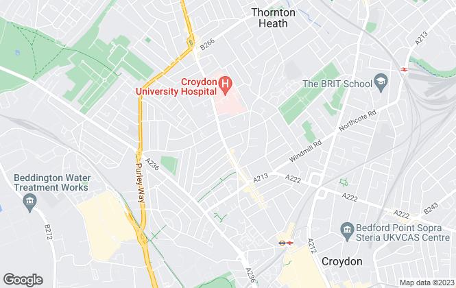 Map for CC Gray Estates, London