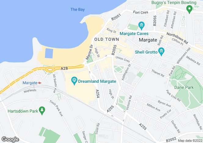 Map for High Street,