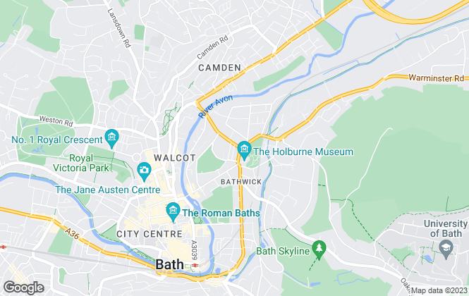 Map for Wild & Lye, Bath