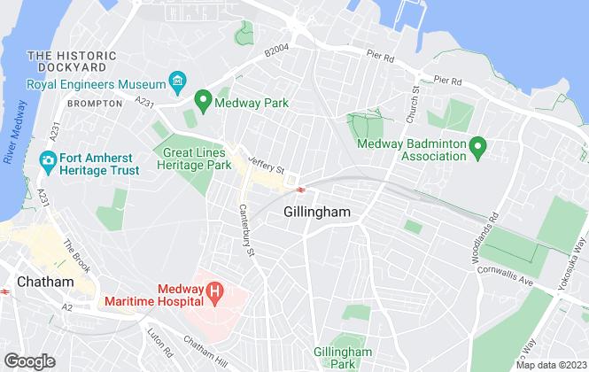 Map for Look Estates Ltd, Gillingham