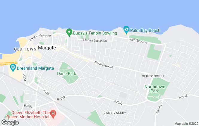 Map for Thomas & Partners, Thanet