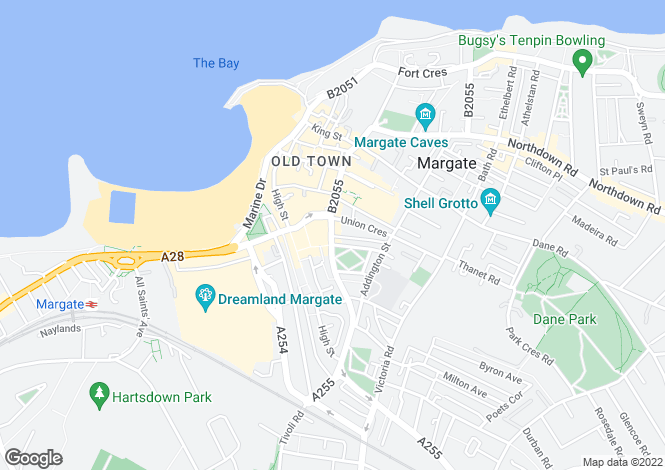 Map for Cecil Street,