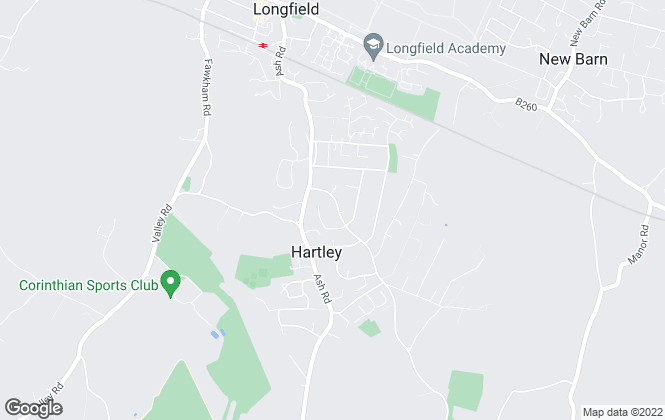 Map for Clifton & Co Estate Agents, Hartley