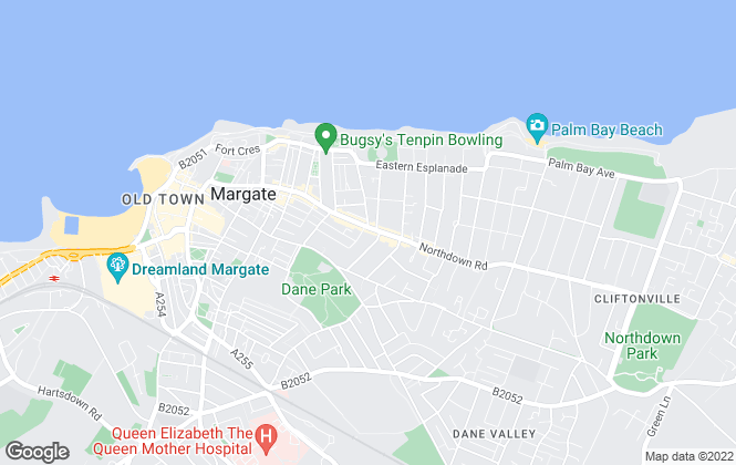 Map for Belvoir, Margate