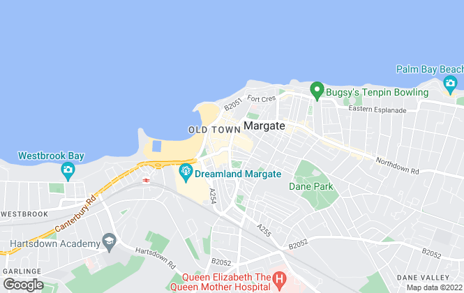 Map for Appleton Letting Agents, Margate