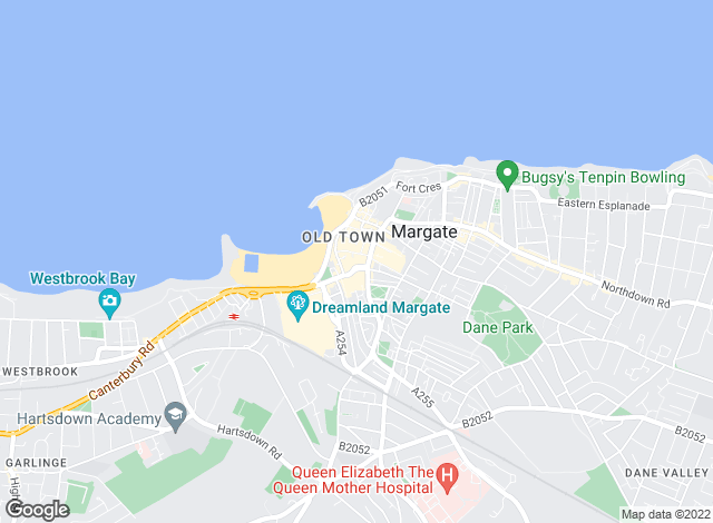 Map for Oakwood Homes, Margate
