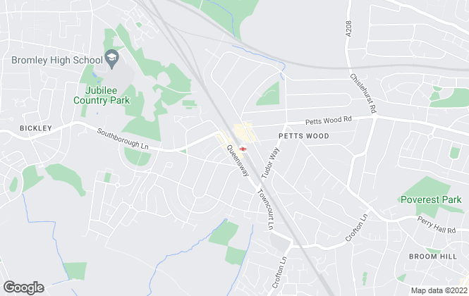 Map for Alan De Maid, Petts Wood