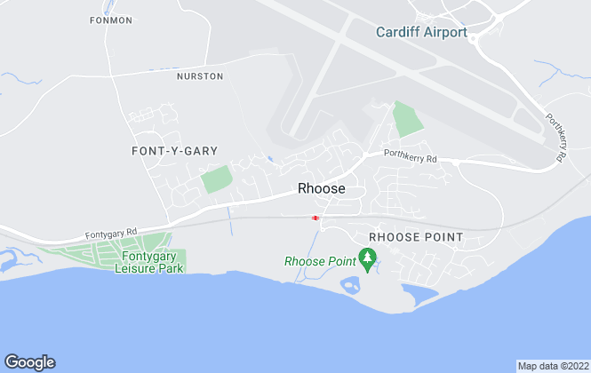 Map for Chris Davies Estate Agents, Rhoose