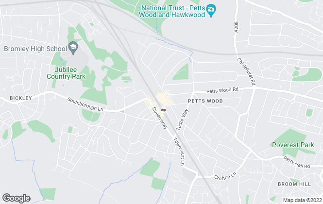 Map for Edmund Estate Agents, Petts Wood