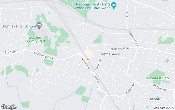 Map for JDM, Petts Wood - Lettings