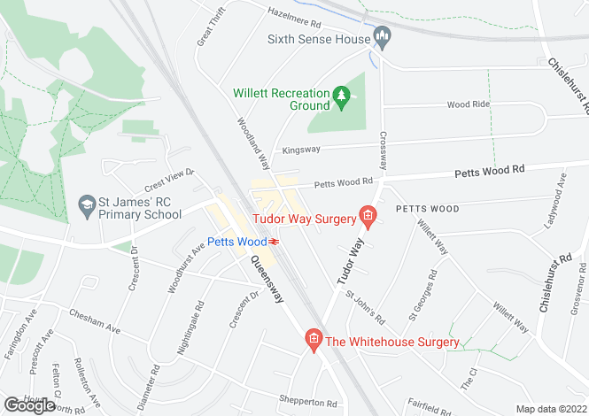 Map for Station Square, Petts Wood