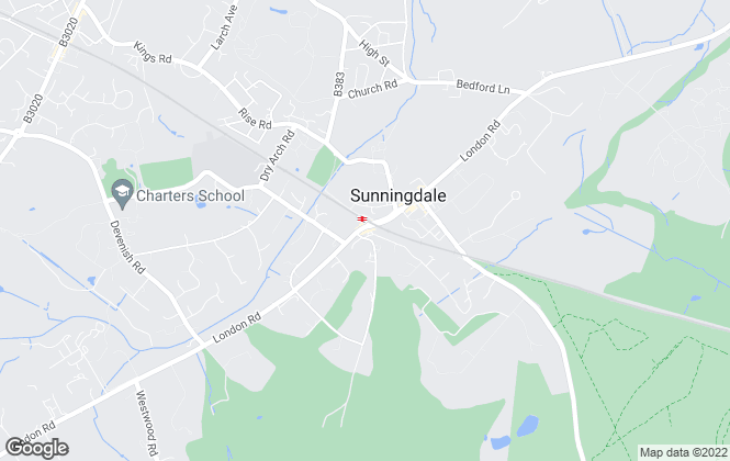 Map for Savills, Sunningdale