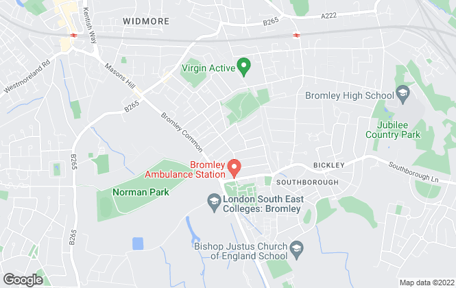 Map for Parker Scott Estate Agents, Bromley